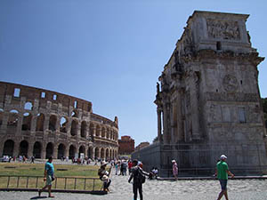 Oudheden in Rome